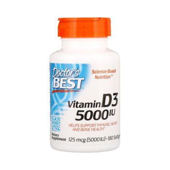 Doctor Best Vitamin D3 5000iu 180 Viên