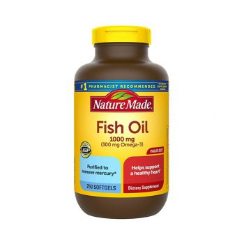 Nature Made Fish Oil 1200mg 200 Viên
