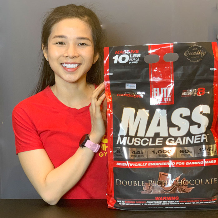 Elite labs mass muscle gainer 10lbs 4.5kg