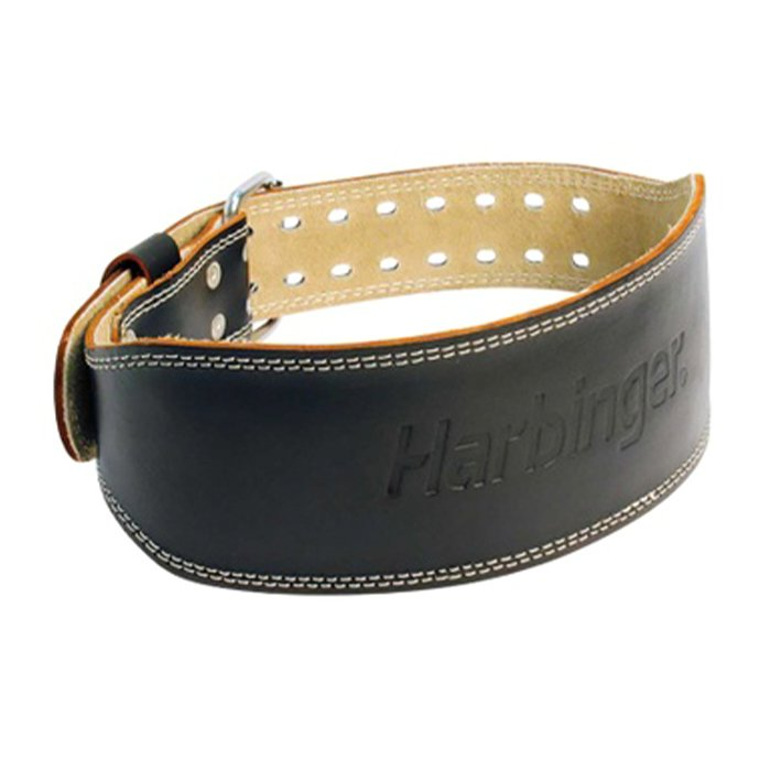 Harbinger padded leather 4 inches black