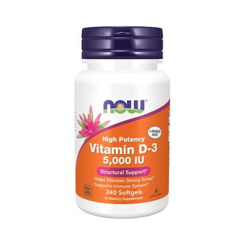 Now Vitamin D3 5000 Iu 240 Viên