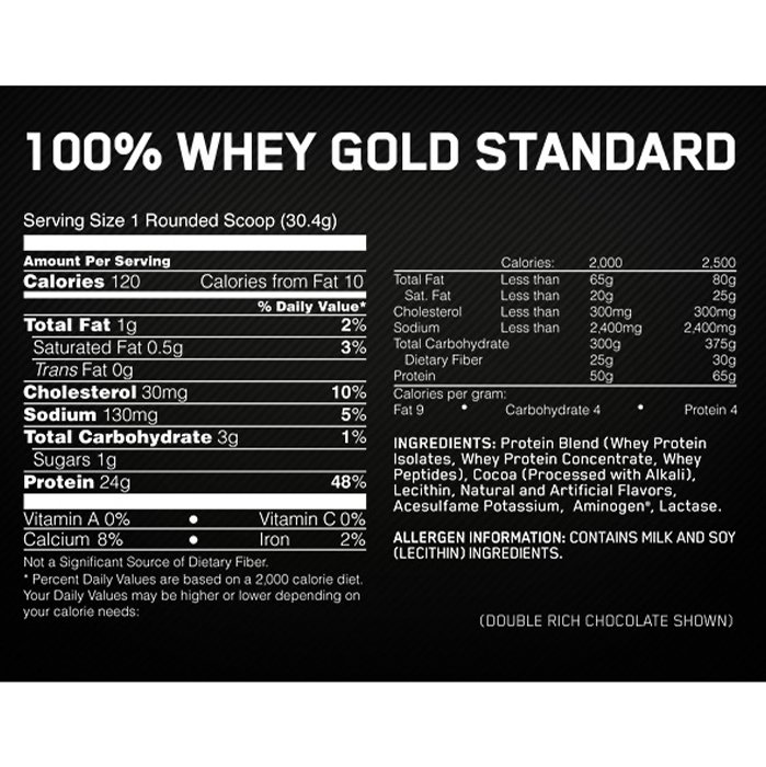 On Gold Standrad Whey 10lbs 4.5kg