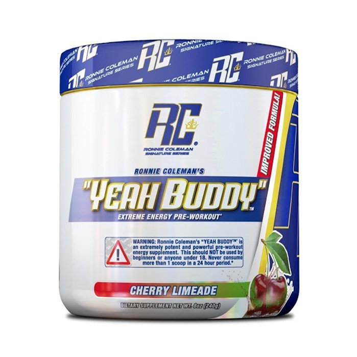 Ronnie coleman yeah buddy pre workout 30ser