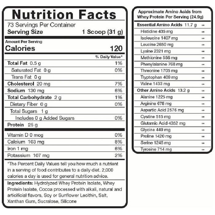 Rsp Iso Lean 5lbs