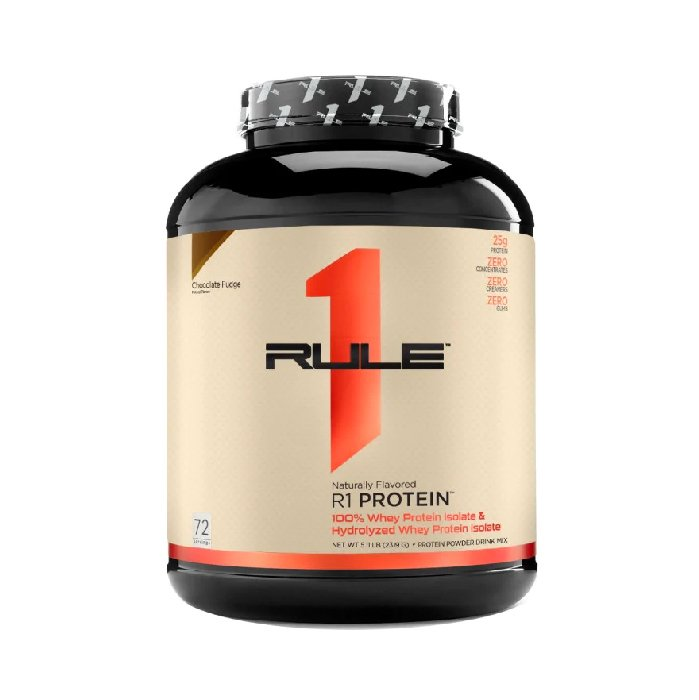 Rule1 protein 5lbs 2.3kg - naturally plain